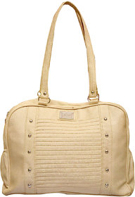 Foax Fashion Ladies Hand-Held Bag(Golden)