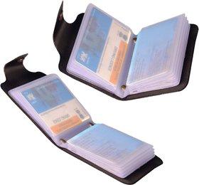 Set of 2  Credit card Holder 12 slotsATM Card in each  assorted color