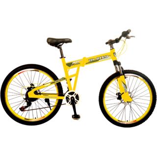Hi-Bird Groove 26T Folding Yellow Cycle