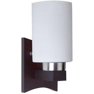 LeArc Designer Lighting Contemporary Glass Metal Wood Wall Light WL1425