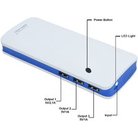 Lionix P-3 Fast Charging 10000 Mah Power Bank Blue (With 6 Months Manufacturing Warranty)