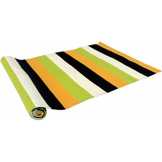 Ryan Anti-Skid Rubber Coated Cotton Handwoven Yoga / Exercise Mat