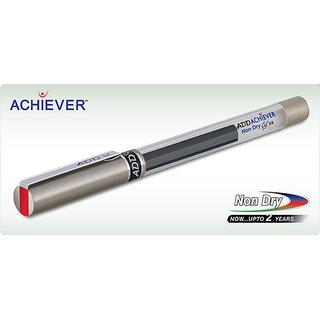 Add Gel Achiever Pen Red ( Set Of 10)