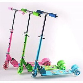 Kids Foldable 3 Wheel Kids Scooter Cycle Scooter Height