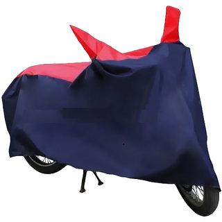 HMS Bike body cover UV Resistant  for Honda Livo - Colour Red and Blue