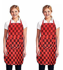 K Decor Set Of 2 Apron