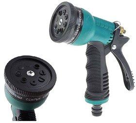 Water Portable Green Spray Gun (8 patterns) for Car/ Bike Washing