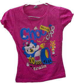 New 2018 Kid Girl T-Shirt New casual Style pink