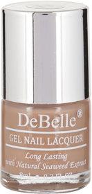 DeBelle Gel Nail Lacquer Coco Bean 8 ml  (Light Brown)