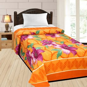 Azaani Super Soft AC Multicolor Printed Single Bed Blanket