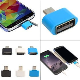 KSJ OTG Adapter for micro usb devices/mobiles