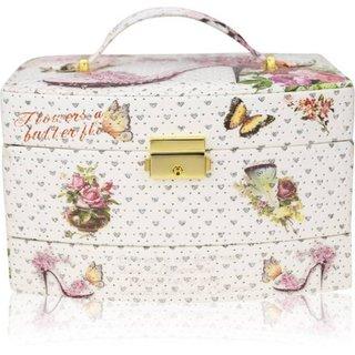 ZEVORA Cinderalla Sandal1 Makeup, Jewellery, Multi Purpose Vanity Box Jewellery Box Vanity Box (Multicolor)