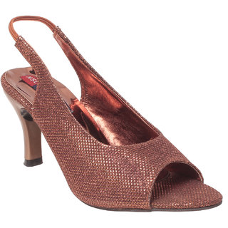 Msc Women Synthetic Copper Heels