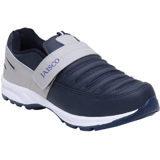 Jaisco Sport Navy Blue Gray Training Slipon Shoes