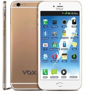 Vox V6666 (128 MB, 128 MB, White-Gold)