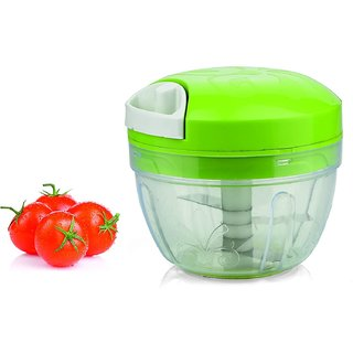 Ankur All in One Smart Food Chopper Vegetable Cutter and Food Processor Green