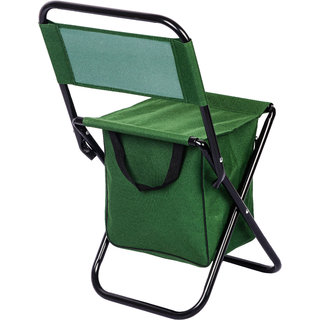 Jubilant Lifetsyle Multipurpose Folding steel Chair With Zippered Bag/ Indoor Outdoor Chair