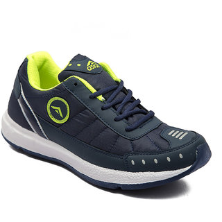 Asian Men's Blue Green Training Shoes