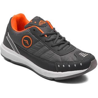 Asian Men's Grey Orange Training Shoes