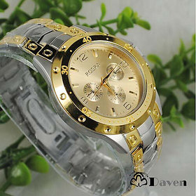 Rosra Golden Watches For Men by 7star
