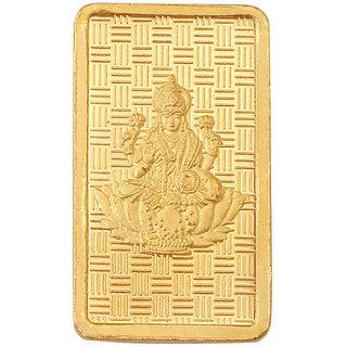 RSBL 8 grams 24k 999 Yellow Gold Laxmi Precious Bar