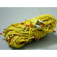 Yellow Lights Serial Bulb Decoration Light For Diwali Navratra Christmas 10 Mtr
