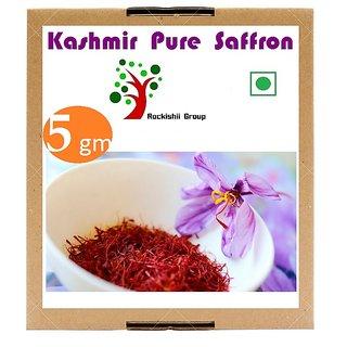 Kashmiri Pure Saffron Kesar 5 gms Zafran Pure Stigma Mogra