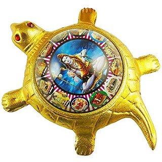 eshoppee shri sampoorn shiv mahadev yantra on tortoise for long life and success