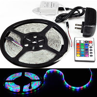 WATERPROOF LED STRIP LIGHT MULTICOLOR 5M -15 Colour WITH  IR Remote Control