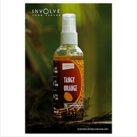 Involve Your Senses (Tangy Orange) Spray Air Freshener : Natural Fragrance [Made In India]