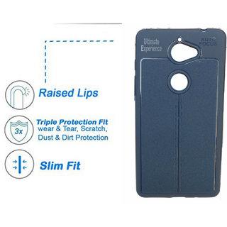 best service 97a08 8b4ce 10.or E Autofocus Back Case Cover Exclusive Soft Silicone TPU Jelly Case  Soft Back For 10 or E Tenor E Blue Color