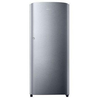 Samsung RR19H1104SE/TL 192 Litres Single Door Direct Cool Refrigerator  Electric Silver