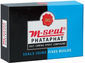 Pidilite M-Seal Phataphat Fast Curing Epoxy Compond 25gm(pack of 2)