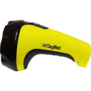 Digitek DRF 10 Led Rechargeable Torch Yellow