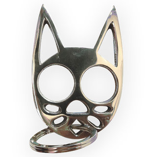 Buy Cat Knuckle Keychain Ss Brass For Women Self Defense Online