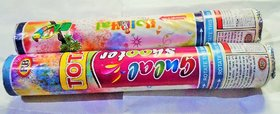 TOTA HOLI  HERBAL GULAL POPPER / SHOOTER FOR COLORFUL HOLI  and HOLI PARTY