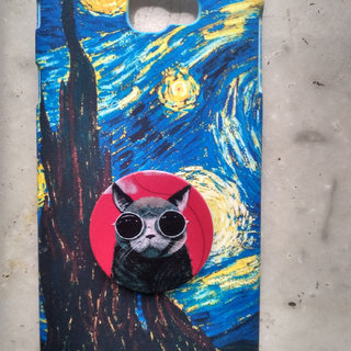 Monki Phone Grip Cat