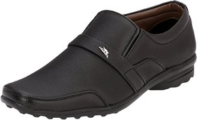 AFM Black Formal Shoes For Men