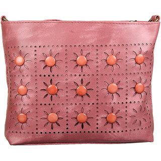 Adine Lemon Embellished Handbag