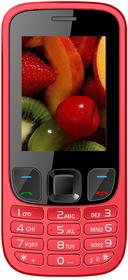 IKall K6303 RED Mobile Phone  2.4 InchDual Sim 1800mAh Battery