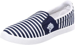 Birdy De 1' Amour Men'S White Blue Casual Shoes
