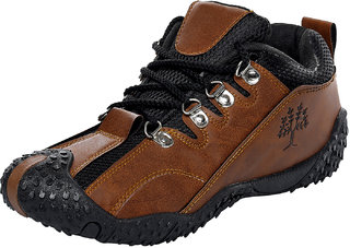 Birdy Pasco Men'S Black Brown Casual Shoes