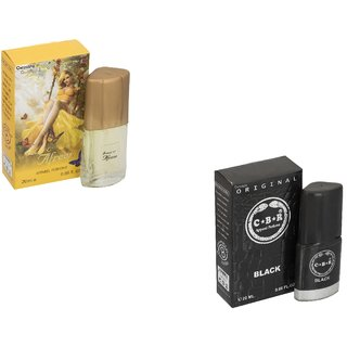 Skyedventures Set of 2 Afreen 20ml-C.B.R Black 20 ml Perfumr