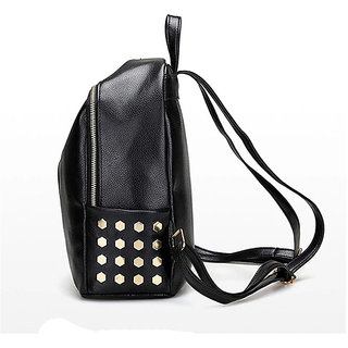 3e79e31b18dc7 Buy women's college leather backpack Online - Get 46% Off