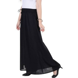 stretchable Designer Plain Casual Wear Palazzo Pant For Women's