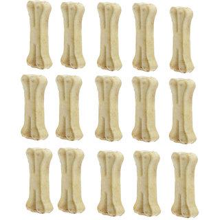 Bones White Dog Chew 3 Inch Pack of 15