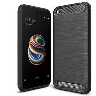 Just Click Back Cover forRedmi 5A (Black, Grip Case, Rubber)