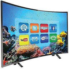 Welltech CU32S1 32 inches(81.28 cm) Smart Full HD Curved Led TV