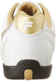 Fila Mens Cross 2 Wht/Gld Lifestyle Shoes
