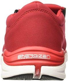 Fila Mens Slide Rd/Blk Lifestyle Shoes